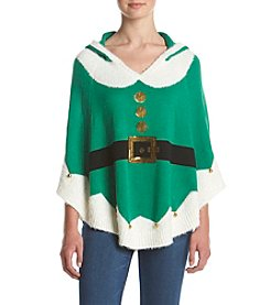 Love Always Elf Hooded Poncho