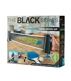 Black Series Retractable Tabletop Tennis