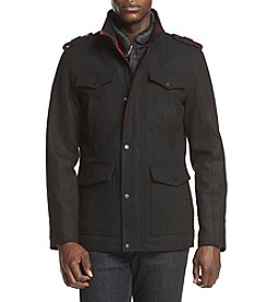 Guess Men's Four-Pocket Wool Jacket