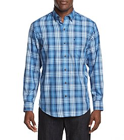 IZOD® Fieldhouse Twill Long Sleeve Woven Button Down Shirt