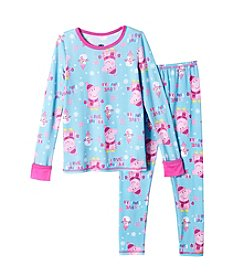 Cuddl Duds® Girls' 2T-5T Peppa Pig Pajamas