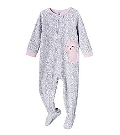 Carter's Baby Girls' 2T-4T One Piece Kitty Sleep & Play