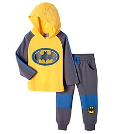 Batman® Boys' 2T-7 Knit Hooded Pullover And Pants Set