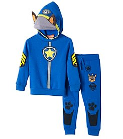 Paw Patrol Boys' 2T-4T Knit Hooded Paw Patrol Pullover And Pants Set