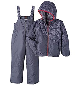 Hawke & Co. Boys' 2T-7 Jacket and Snowbib Pants Set