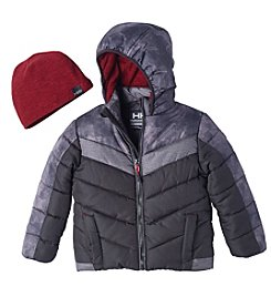 Hawke & Co. Boys' 2T-4T Bubble Jacket