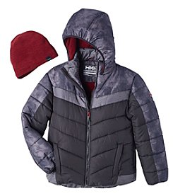 Hawke & Co. Boys' 8-20 Bubble Jacket