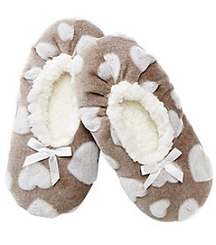 Fuzzy Babba® Heart Slipper Socks
