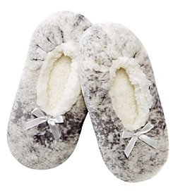 Fuzzy Babba® Bow Slipper Socks