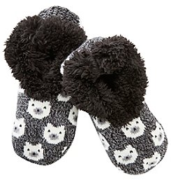 Fuzzy Babba® Teddy Fur Bear Slipper Socks