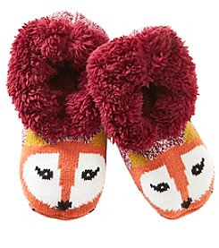 Fuzzy Babba® Teddy Fur Fox Slipper Socks