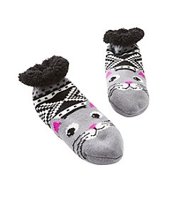 Fuzzy Babba® Cozy Warmer Cat Slippers