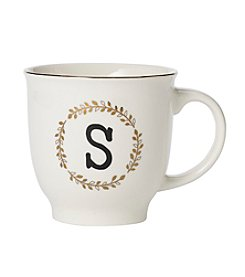 Sheffield Home Solid Monogrammed Mug