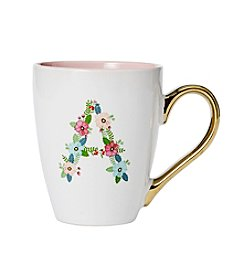 Sheffield Home Floral Letter Mug