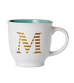 Sheffield Home Striped Monogram Mug