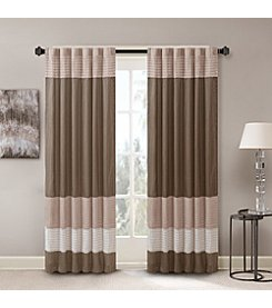 Madison Park™ Amherst Polyoni Pintuck Window Curtain