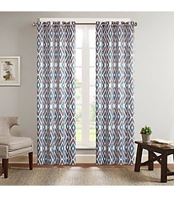 Madison Park™ Ashlin Diamond Printed Window Curtain