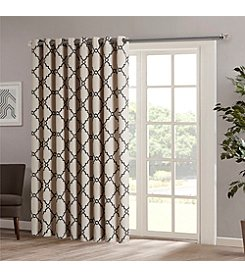 Madison Park™ Saratoga Fretwork Print Patio Window Curtain