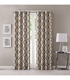 Madison Park™ Saratoga Fretwork Print Window Curtain