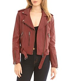 Bagatelle® Washed Biker Jacket