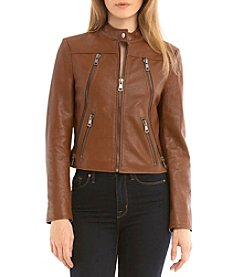 Bagatelle® Textured Moto Jacket