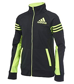 adidas® Boys' 2T-7 Long Sleeve League Track Jacket