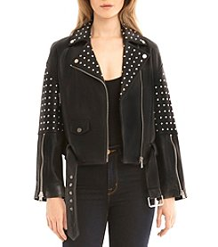 Bagatelle® Studded Biker Jacket