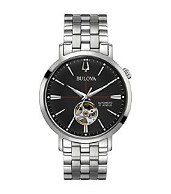 Bulova Men's Classic Automatic Stainless Bracelet Watch