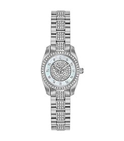 Bulova Women's Swarovski  Crystals Collection Stainless MOP Bracelet Watch
