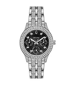 Bulova Women's Swarovski  Crystals Collection Multifunction Stainless Bracelet Watch
