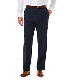 Haggar® Men's Big & Tall Cool 18 Pro Classic Flat Front Heather Pants