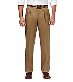 Haggar® Men's Big & Tall Men's Performance No Iron Stretch Cotton Pants