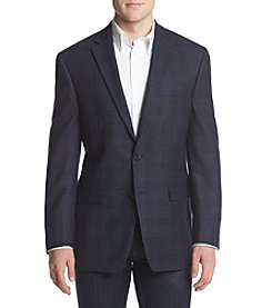 Lauren Ralph Lauren Men's Big & Tall Checkered Slim Sport Coat