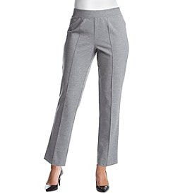 Alfred Dunner® Petites' Proportioned Short Ponte Pant