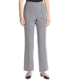 Alfred Dunner® Petites' Ponte Pants