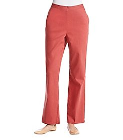 Alfred Dunner® Petites' Solid Pants