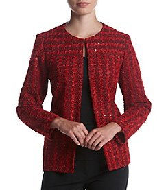 Alfred Dunner Petites' Sparkle Boucle Jacket