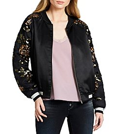 Jessica Simpson Sequin Detailed Bomber Jacket