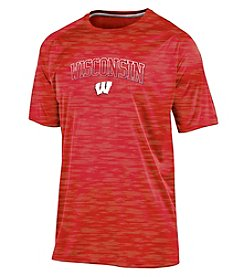 Champion® NCAA® University of Wisconsin Men's Short Sleeve Shirt
