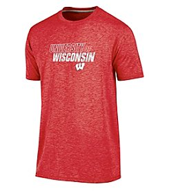 Champion® NCAA® Wisconsin Badgers Men's Short Sleeve Touchback Tee