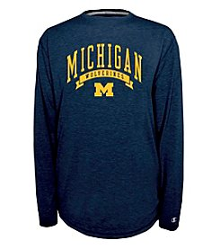 Champion® NCAA® University of Michigan Men's In Pursuit Long Sleeve