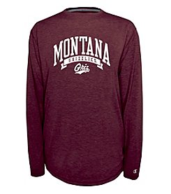 Champion® NCAA® University of Montana Men's In Pursuit Long Sleeve Crew Neck