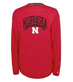 Champion® NCAA® Nebraska State Men's In Pursuit Long Sleeve
