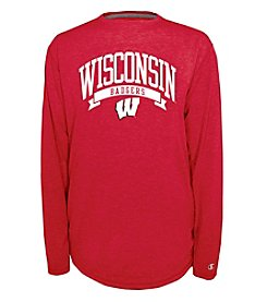 Champion® NCAA® University of Wisconsin Men's In Pursuit Long Sleeve