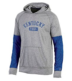Champion® NCAA® Kentucky Wildcats Men's Long Sleeve Colorblock Split Hoodie