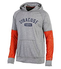 Champion® NCAA® Syracuse Orange Men's Long Sleeve Colorblocked Split Hoodie