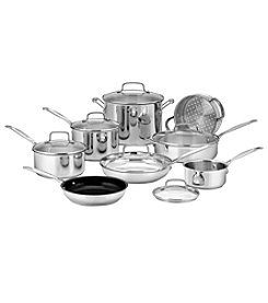 Cuisinart® Chef's Classic™ Stainless 14-Pc. Cookware Set