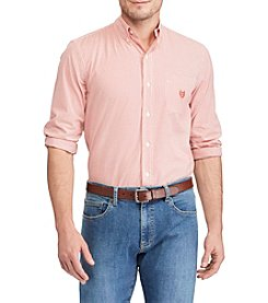 Chaps® Men's Big & Tall Easycare Woven Button Down
