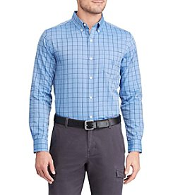 Chaps® Men's Big & Tall Easycare Long Sleeve Woven Button Down