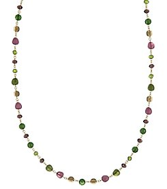 The Sak Long Beaded Necklace